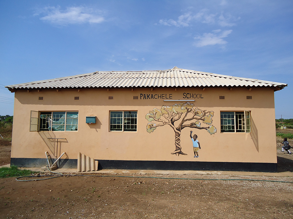 Welcome to the Pakachele Elementary School.  Established in 2009, the Pakachele School is an extension of the Kondwa Centre for Orphans, providing up to 150 children with primary education as well as recreational and psychosocial support programs.