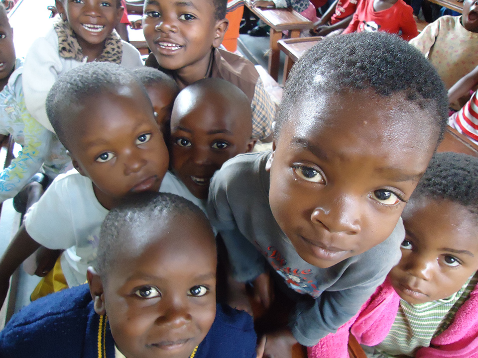 The  Centre not only provides regular meals, medical care, and pre-school education for its 98 orphaned children, but delivers education and psychosocial support programs to as many as 200 children from the nearby slum community of N'gombe, Lusaka.