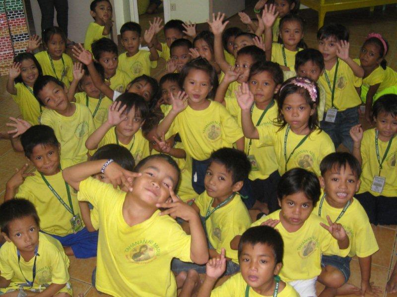 kindergarten children(93children)-they was chosen among poorest family
